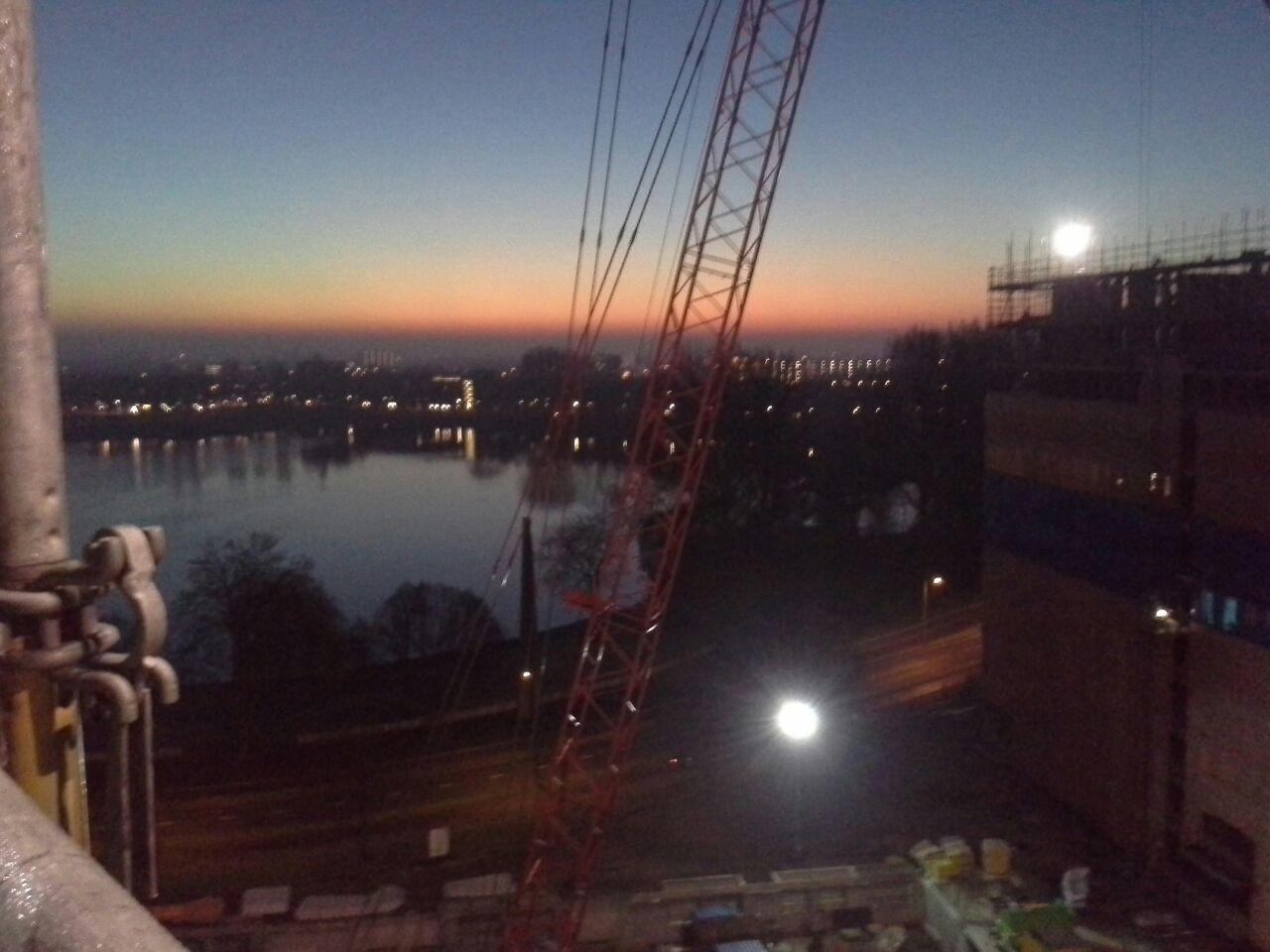 Goedemorgen Den Bosch vanaf de steiger